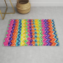 CRAYON LOVE: Cray Tribal Rug