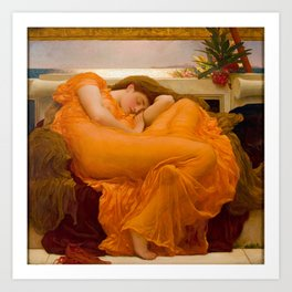 Flaming June, ‎Frederic Leighton Art Print