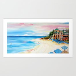 Cottesloe Beach,Indiana Tea House Art Print