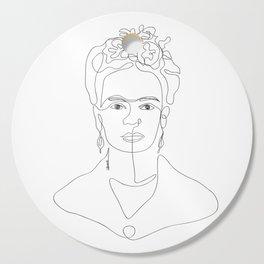 Doña Frida Kahlo Cutting Board