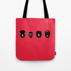 paulie, junior, tony & silvio Tote Bag