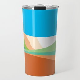 Bromo gradation Travel Mug
