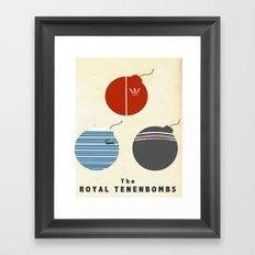 The Royal Tenenbombs Framed Art Print