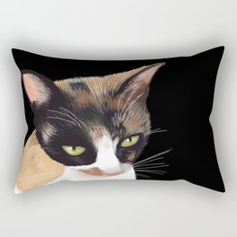 Calico Cat Rectangular Pillow