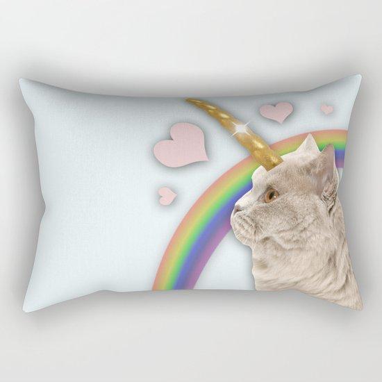 CAT UNICORN Rectangular Pillow