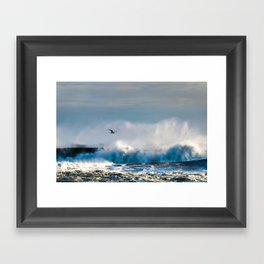 Wave Cruiser Framed Art Print