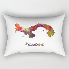 Panama in watercolor Rectangular Pillow