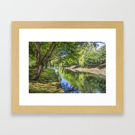 Royal Military Canal Framed Art Print