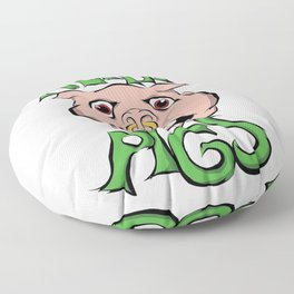 Filthy pigs Floor Pillow