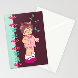 little miss asabi boo Stationery Cards