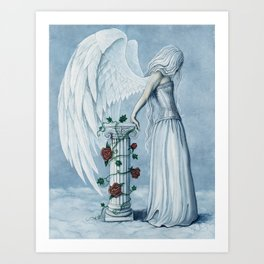 Hope Angel Art Print