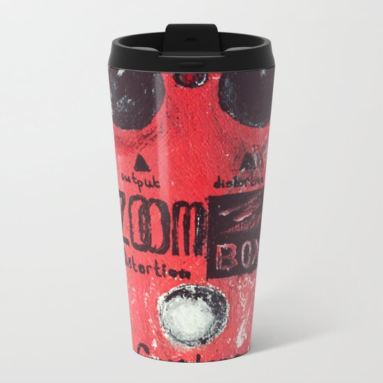 Guyatone PS 102 Zoom Box Distortion Metal Travel Mug
