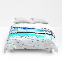 Aqua Boat Comforters