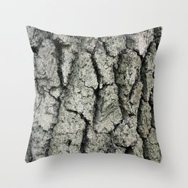 Barkin' Up The Right Tree Throw Pillow