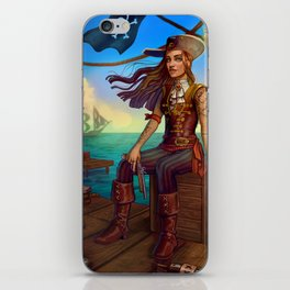 Pirate Commission iPhone Skin