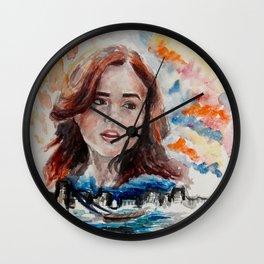Clary Fray Wall Clock