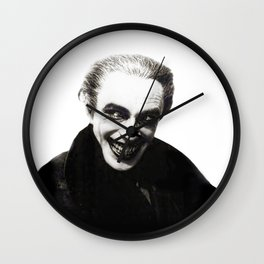 The Men Who Laugh Wall Clock