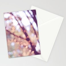 Glitter in the air Stationery Cards