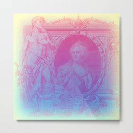 Bright Ruble Metal Print