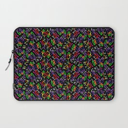 Colored Only in a Square World Laptop Sleeve