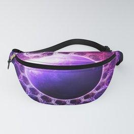 Deep Dream Fractal Mandala - Deep Space Galaxy Dreamer Fanny Pack