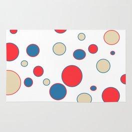 polka dot abstract Rug