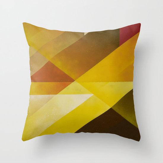 Jazz Festival 2012 (Number 3 in a series of 4) Throw Pillow