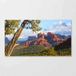 Cathedral Rocks of Sedona Canvas Print