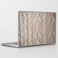 sweater Laptop & iPad Skins featuring sweater by shannonblue