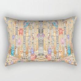 Cute Monsters Rectangular Pillow
