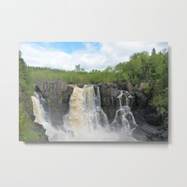 High Falls Grand Portage Metal Print
