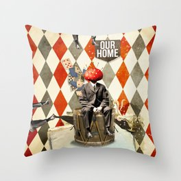 Our home Throw Pillow