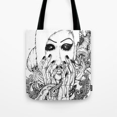 goth love Tote Bag