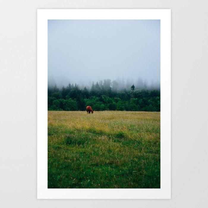 Morning Graze Art Print