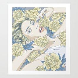 beauty in simple things Art Print