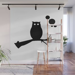 the owl awake Wall Mural