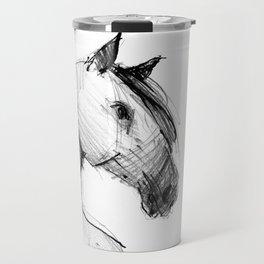 Horse (a head) Travel Mug