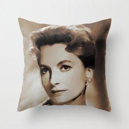 Hollywood Classics, Deborah Kerr, Actress Throw Pillow