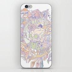 bone & beauty iPhone & iPod Skin