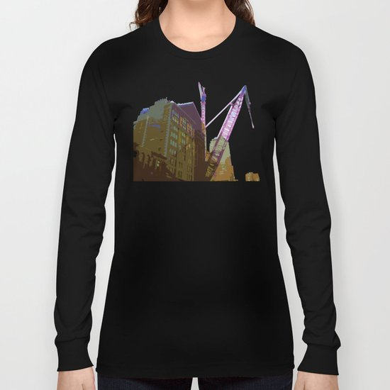 NY#4 Ground Zero, brown Long Sleeve T-shirt