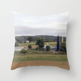 Strasburg Railroad Series 15 Throw Pillow