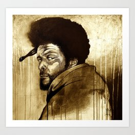Soul Brother - Questlove Art Print