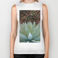 succulents Biker Tanks featuring Succulents by Juliette