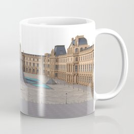 Louvre Illustration Coffee Mug