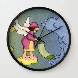 Heavenly Housekeeper Wall Clock