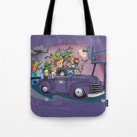 van Tote Bags featuring Van by manuvila