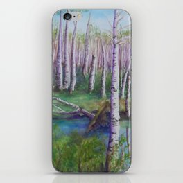 Crossing the Swamp WC151101-12 iPhone Skin