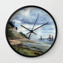 Lionel Constable View near Walton on Naze Wall Clock