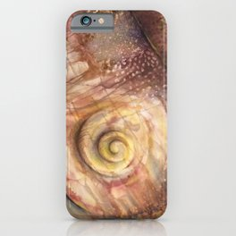 Abstract Shell iPhone Case