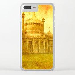 Brighton: Royal Pavillion. Clear iPhone Case